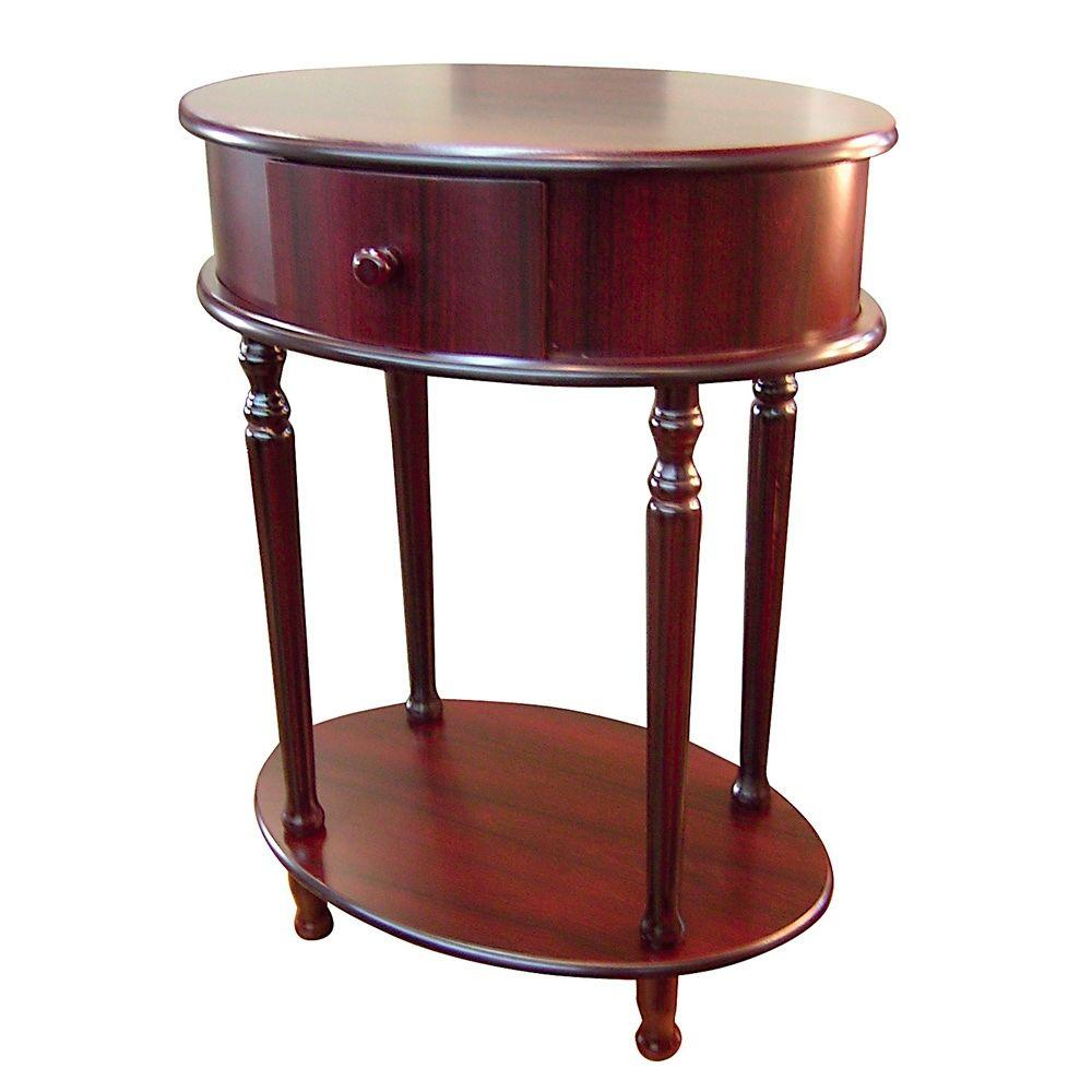 Cherry Storage Side Table H 114 The