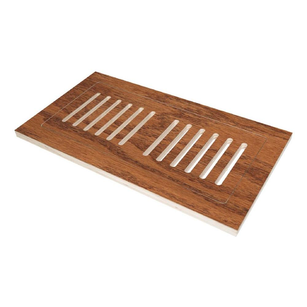 4 in x 12 in engineered hardwood flush mount floor register wire engineered hardwood flush mount floor register wire brushed ppazfo