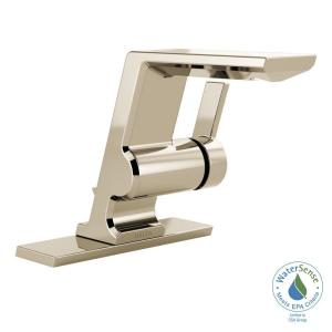 Delta Pivotal Single Hole Single-Handle Bathroom Faucet with Metal Drain... by Delta