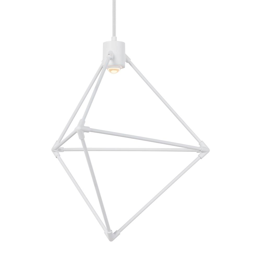 Lbl Lighting Candora 1 Light White Led Chandelier