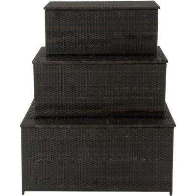 3-in-1 Deck Storage Box Set