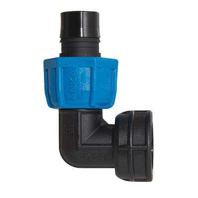 1 in. Fiberglass Reinforced Nylon 90-Degree FNPT x Barb Elbow