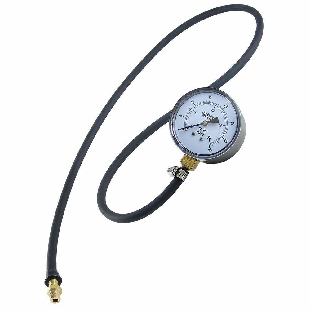 General Tools Gas Pressure Test Kit with Hose