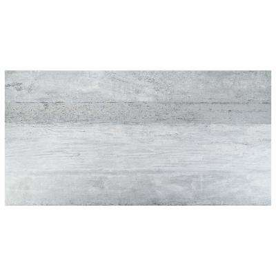 Stratos Grand Gris 17-5/8 in. x 35-3/8 in. Porcelain Floor and Wall Tile (4 cases / 53.07 sq. ft. / pallet)