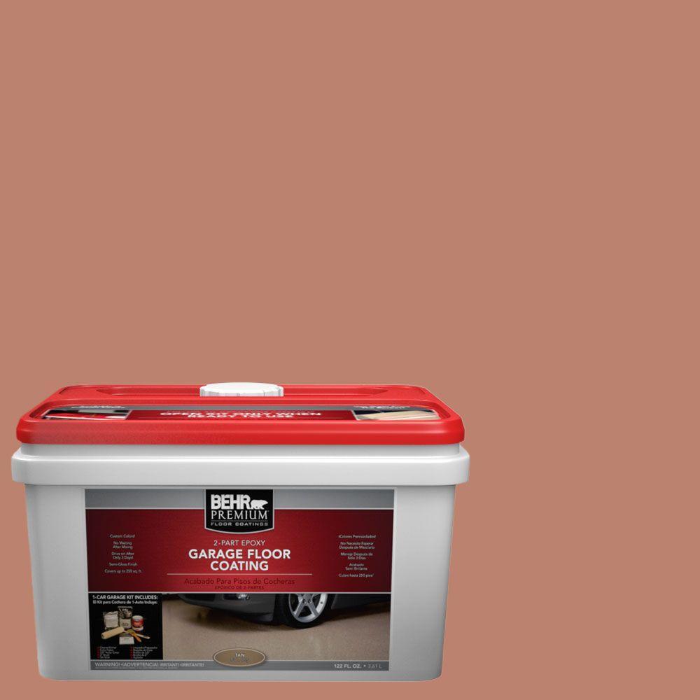 BEHR Premium 1-gal. #PFC-13 Sahara Sand 2-Part Epoxy Garage Floor Coating Kit