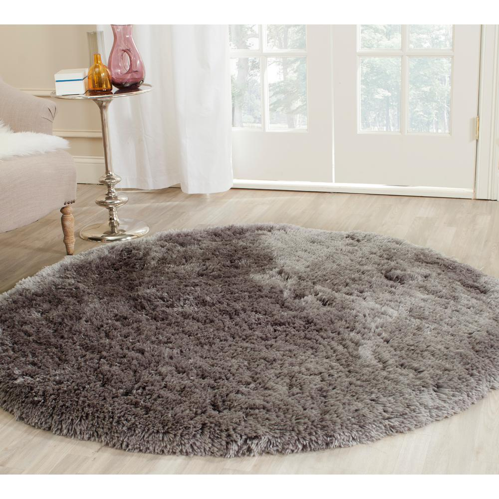 Safavieh Monaco Gray Multi 5 Ft X 5 Ft Round Area Rug