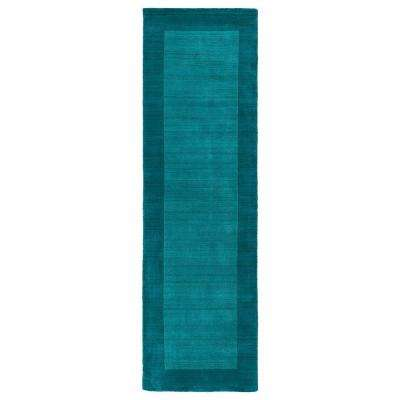 Teal Runner Kaleen Area Rugs Rugs The Home Depot