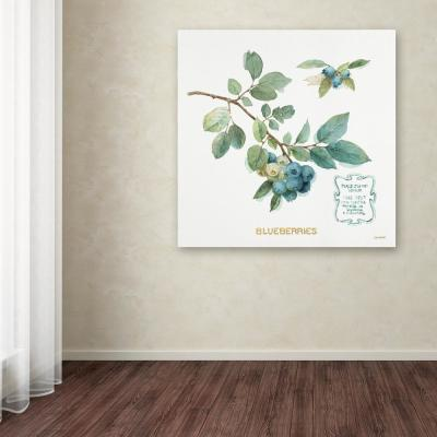 "14 in. x 14 in. ""My Greenhouse Fruit II"" by Lisa Audit Printed Canvas Wall Art"