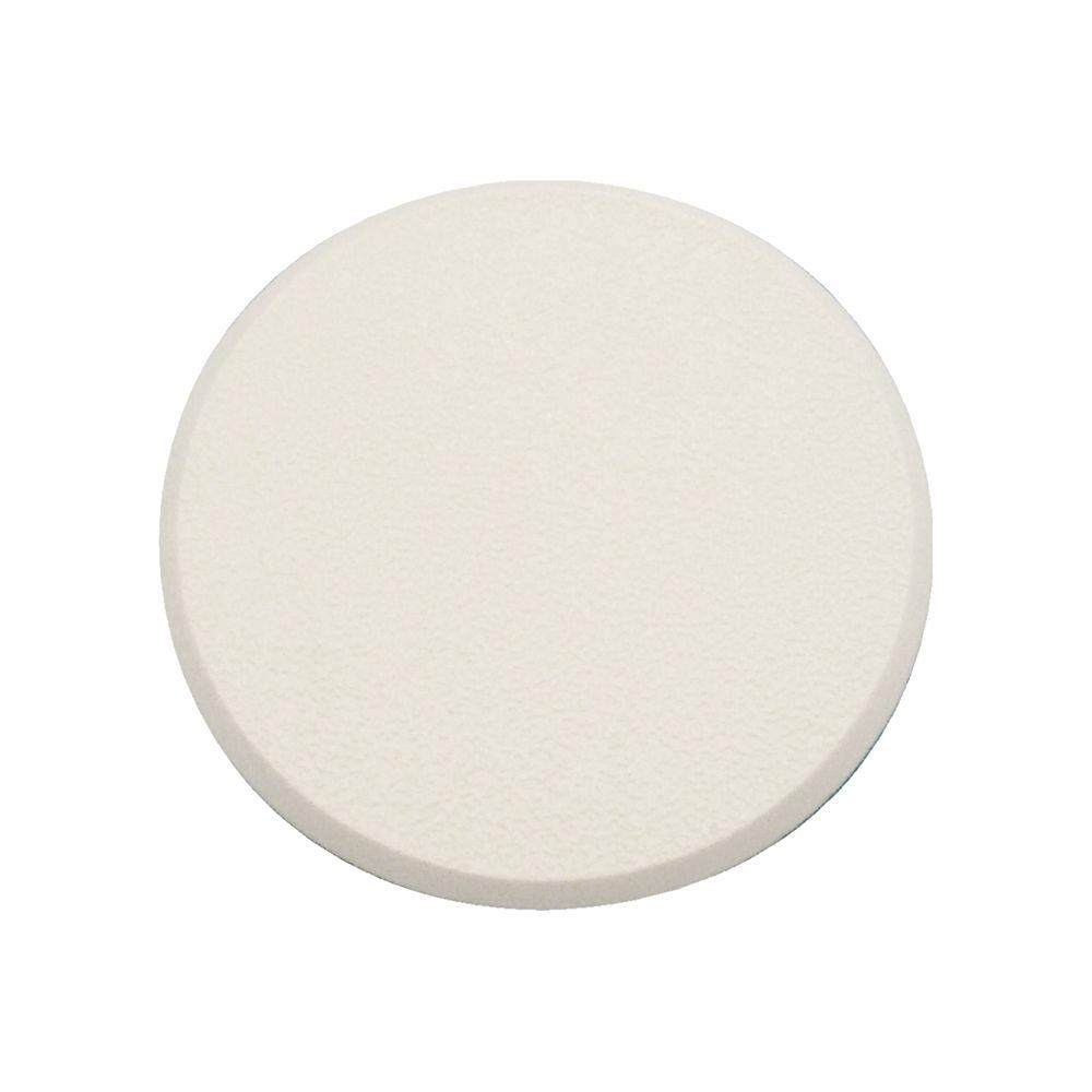 3-1/4 in. Smooth Self-Adhesive White Vinyl Wall Protector