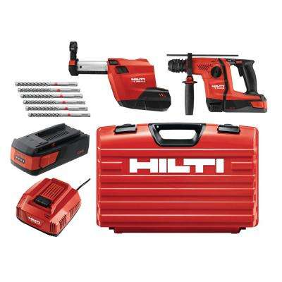36-Volt B36/2.6 Lithium-Ion 1/2 in. SDS Plus Cordless Rotary Hammer TE 6-A36 Compact with DRS Kit