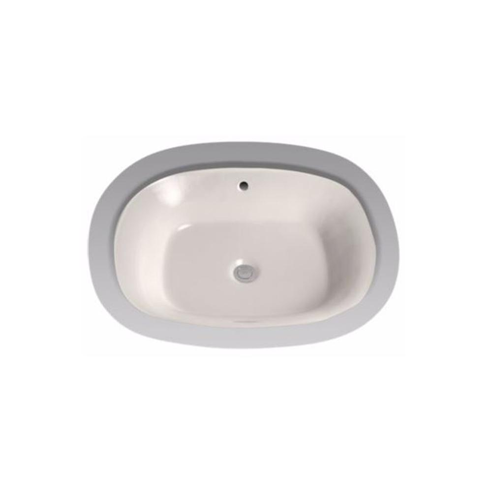TOTO Dartmouth 24 in. Pedestal Sink Basin with 4 in. Faucet Holes in ...