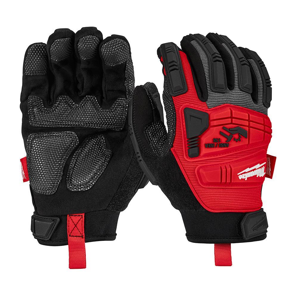 Milwaukee Milwaukee Large Impact Demolition Gloves, Adult Unisex, Black
