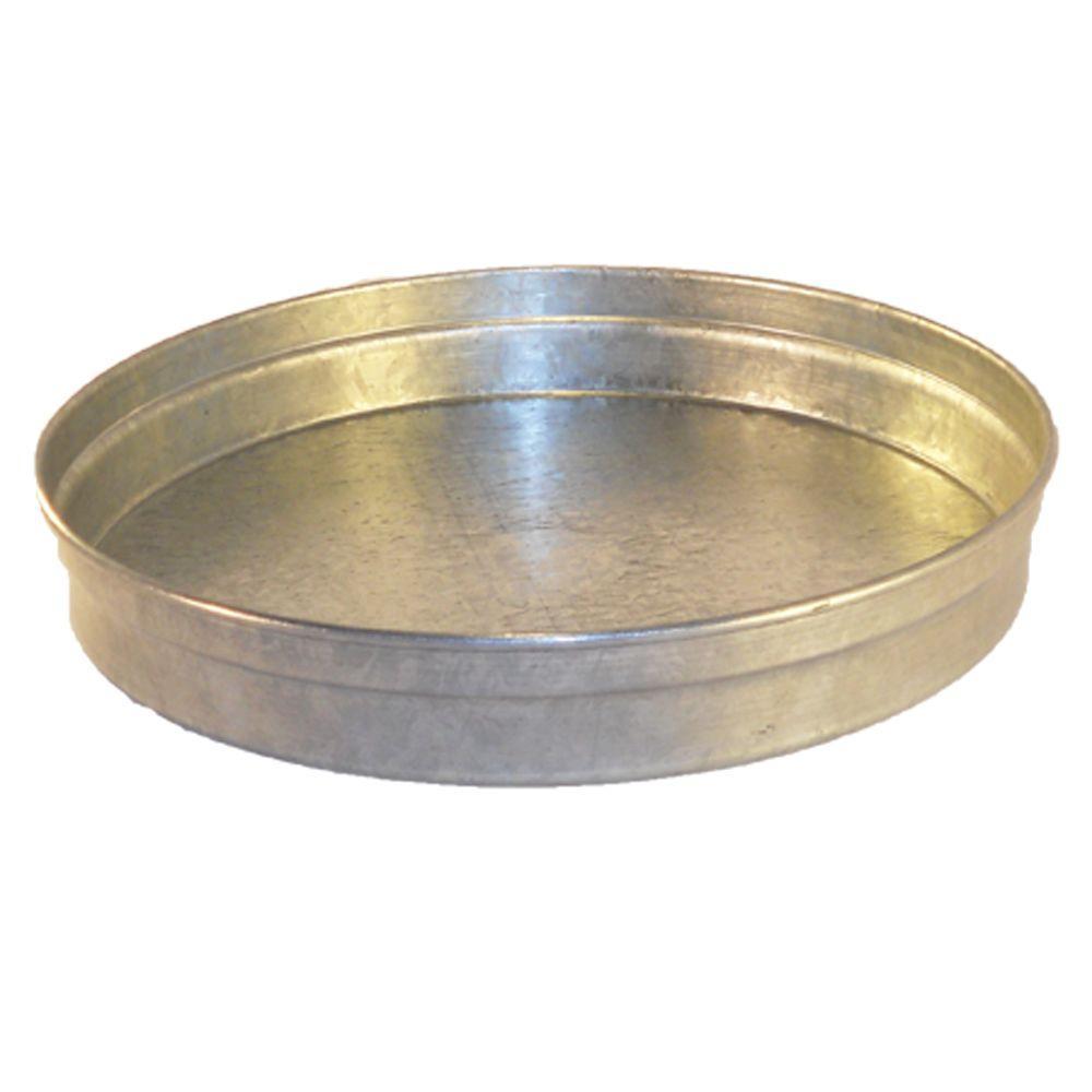 14 in. Sheet Metal Round Cap / Plug