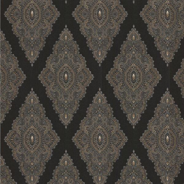 Graham & Brown Jewel Black Removable Wallpaper 31-166