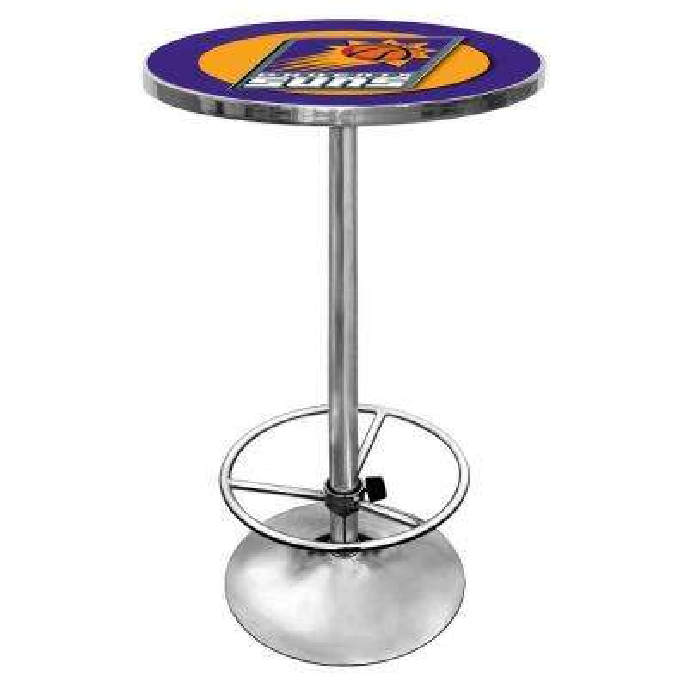 NBA Phoenix Suns Chrome Pub/Bar Table