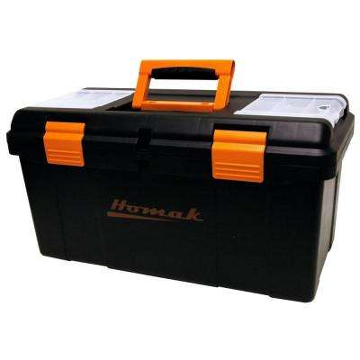 23 in. Tool Box, Black