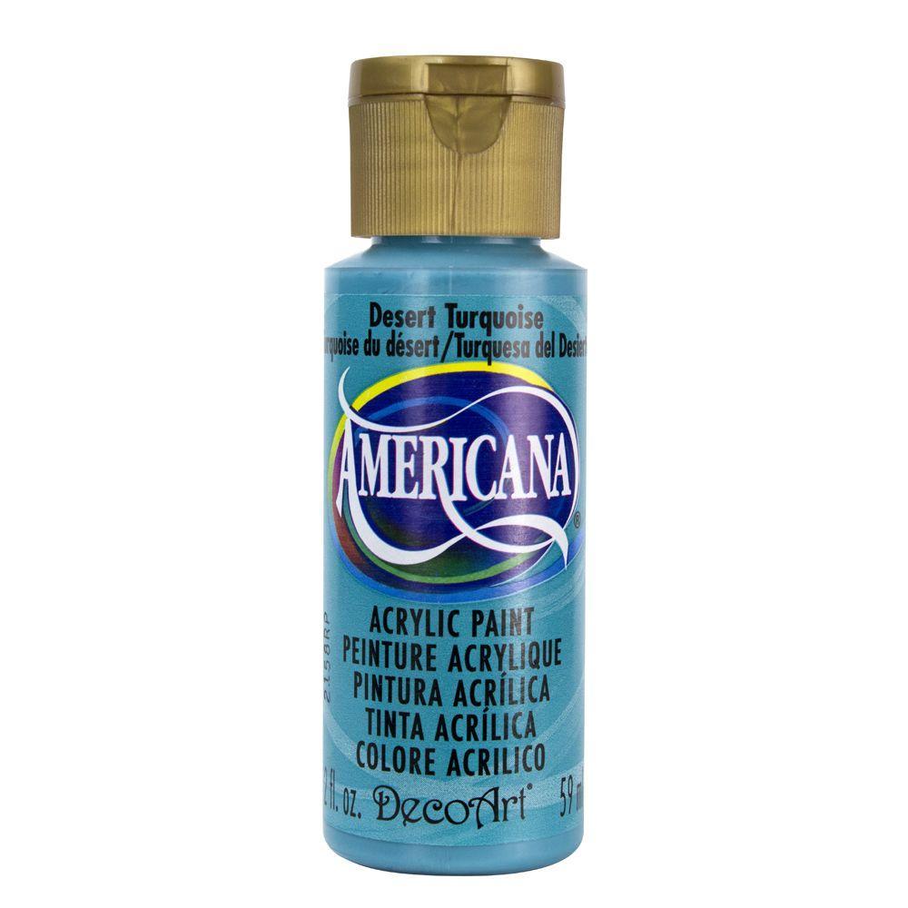 Americana 2 oz. Desert Turquoise Acrylic Paint