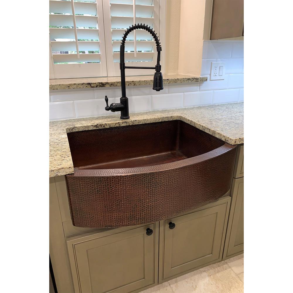 Oil Rubbed Bronze Farmhouse Kitchen Sinks Kitchen Sinks The Home Depot