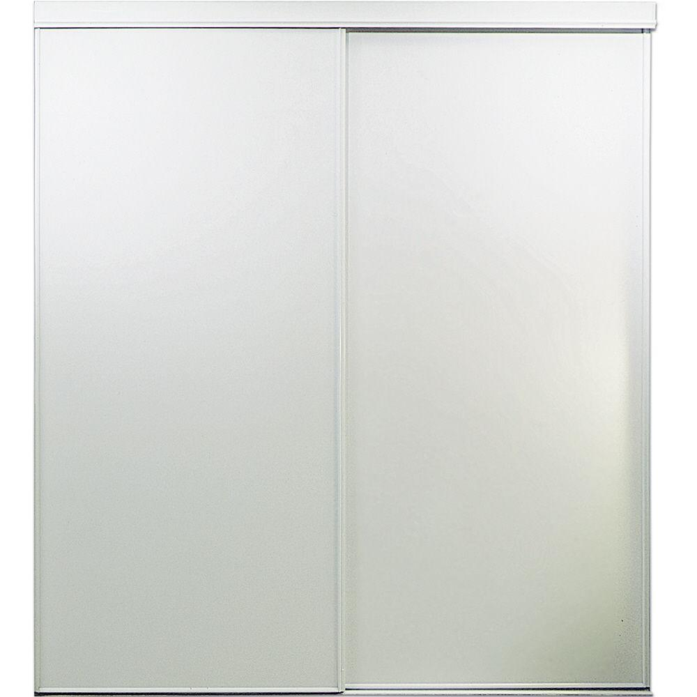 Dicas 100 Door Room Door: TRUporte 72 In. X 78 In. Vinyl Sliding Door-100