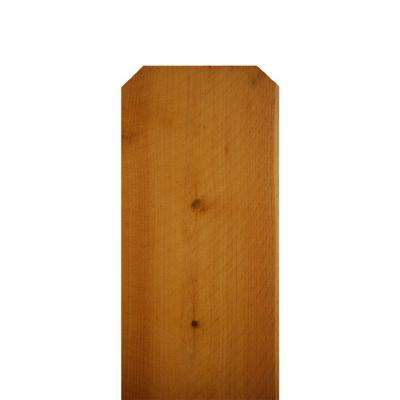 5/8 in. x 5-1/2 in. x 6 ft. Incense Cedar Dog-Ear Fence Picket