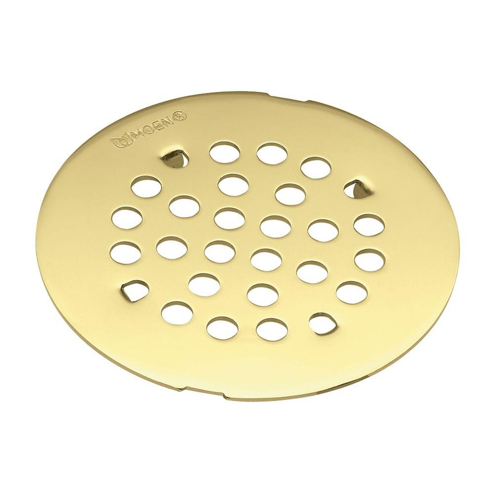 4 1 4 in tub and shower drain cover for 3 in opening in polished rh homedepot com Best Shower Drains Best Shower Drains