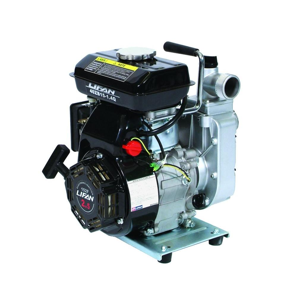 1.5 in. 2.5 HP Gas-Powered Utility Water Pump