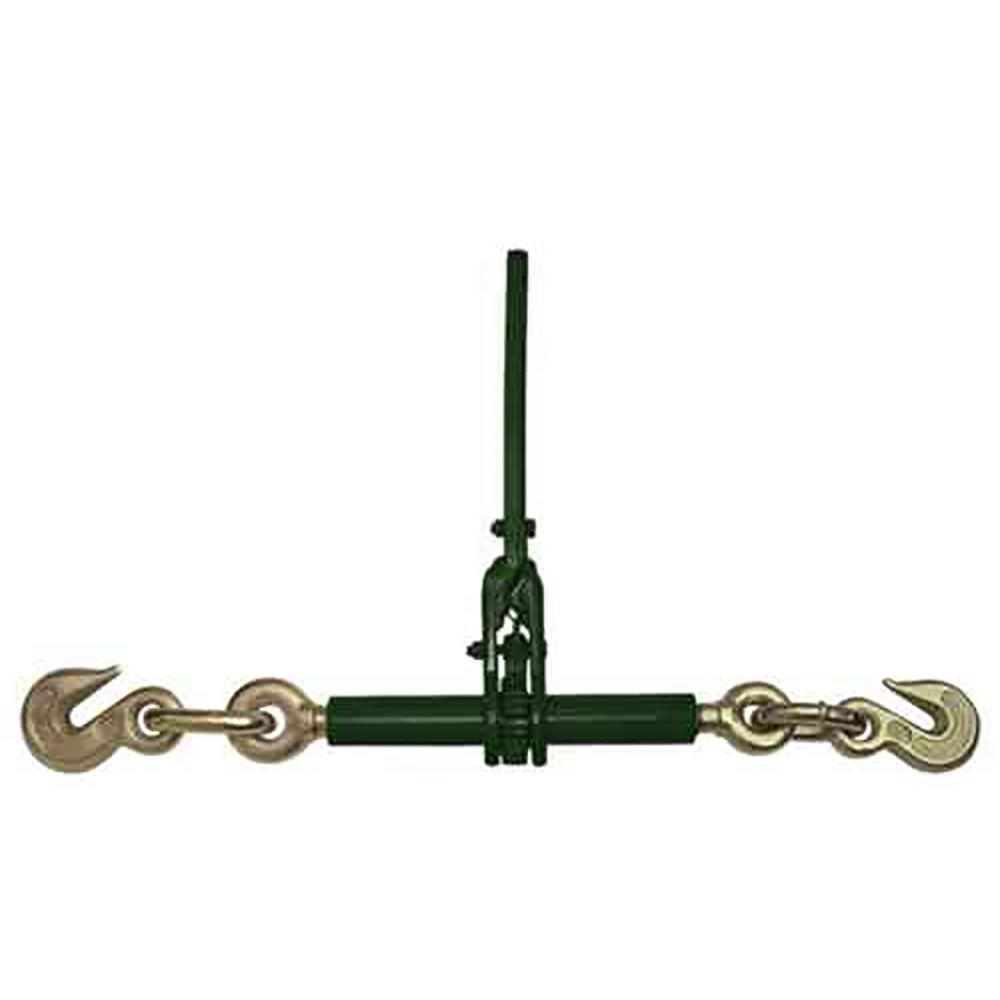 KingChain 101110 3//8 Lever-Type Load Binder with Grab Hooks