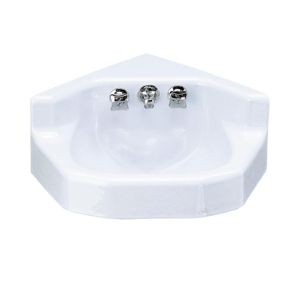 KOHLER Marston WallMounted Cast Iron Bathroom Sink With Factory - Cast iron bathroom fixtures