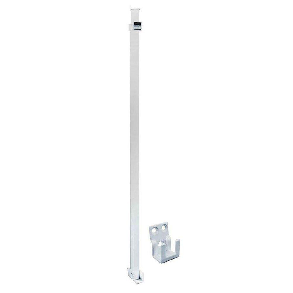 Prime-Line Patio White Sliding Door Security Bar