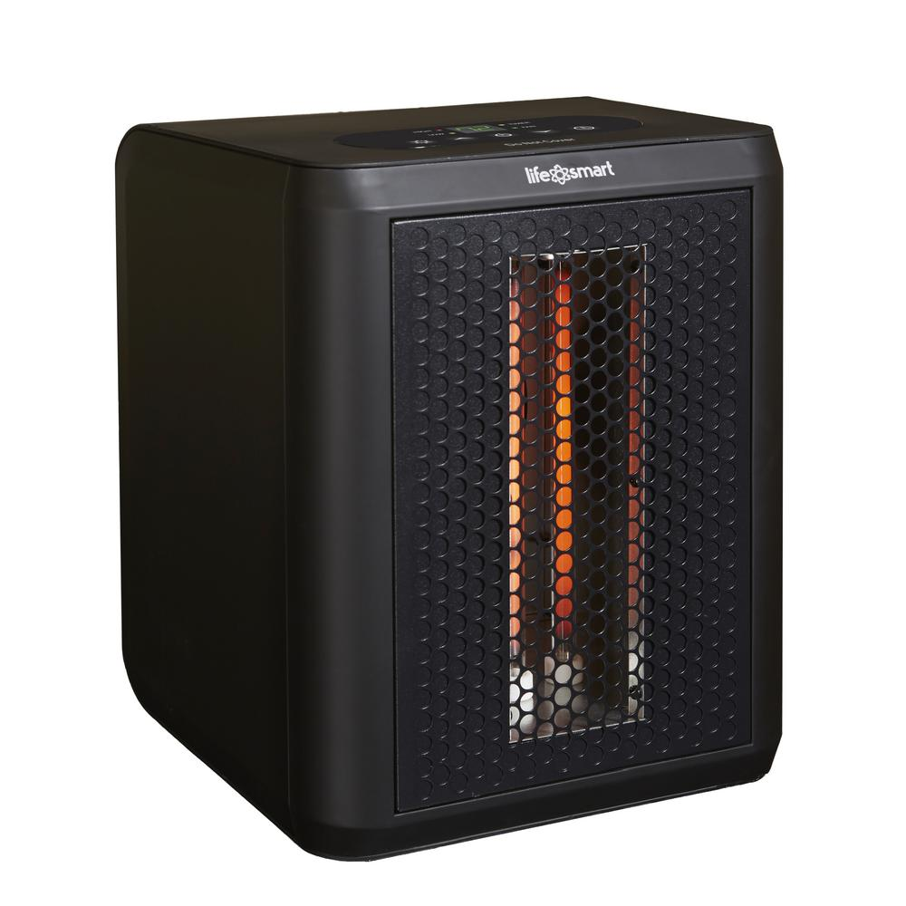 Lifesmart Infrared Heaters Electric The Home Depot Also Room Heater You Can Buy Portable 1200 Watt