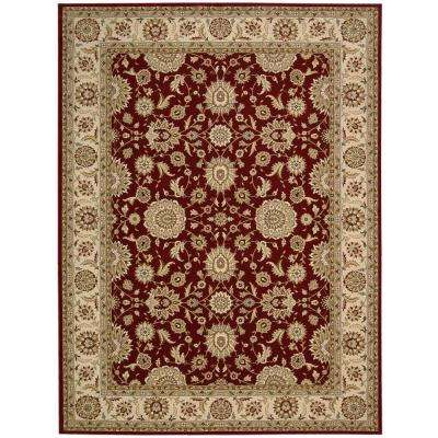 Persian Crown Suret Red 9 ft. x 13 ft. Area Rug