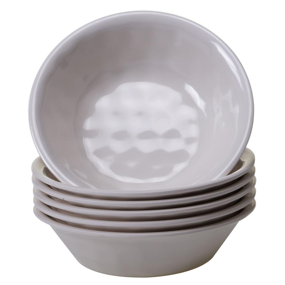 6-Piece Cream Bowl Set