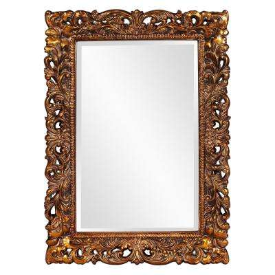 46 in. x 32 in. Rectangle Framed Mirror