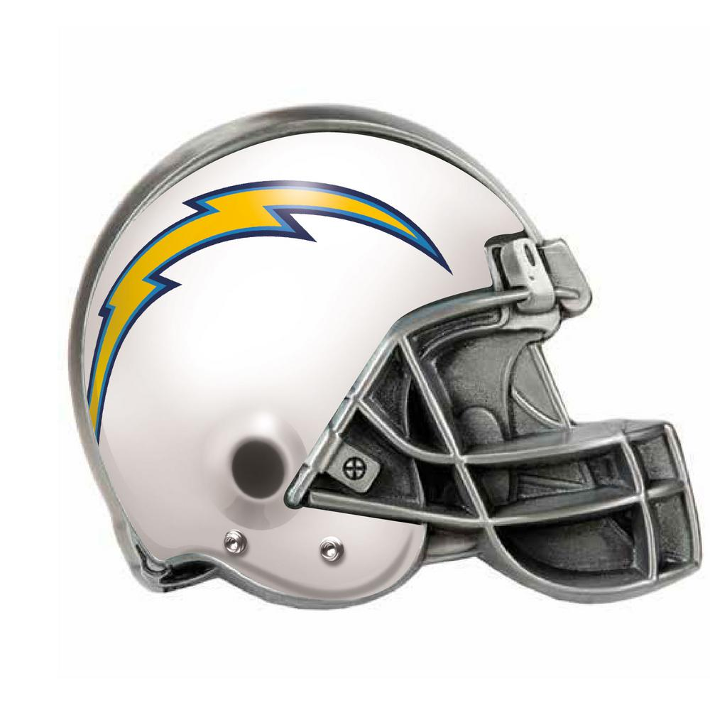 Los Angeles Chargers Helmet Hitch Cover