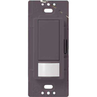 Maestro Motion Sensor Switch, 2-Amp, Single-Pole, Plum