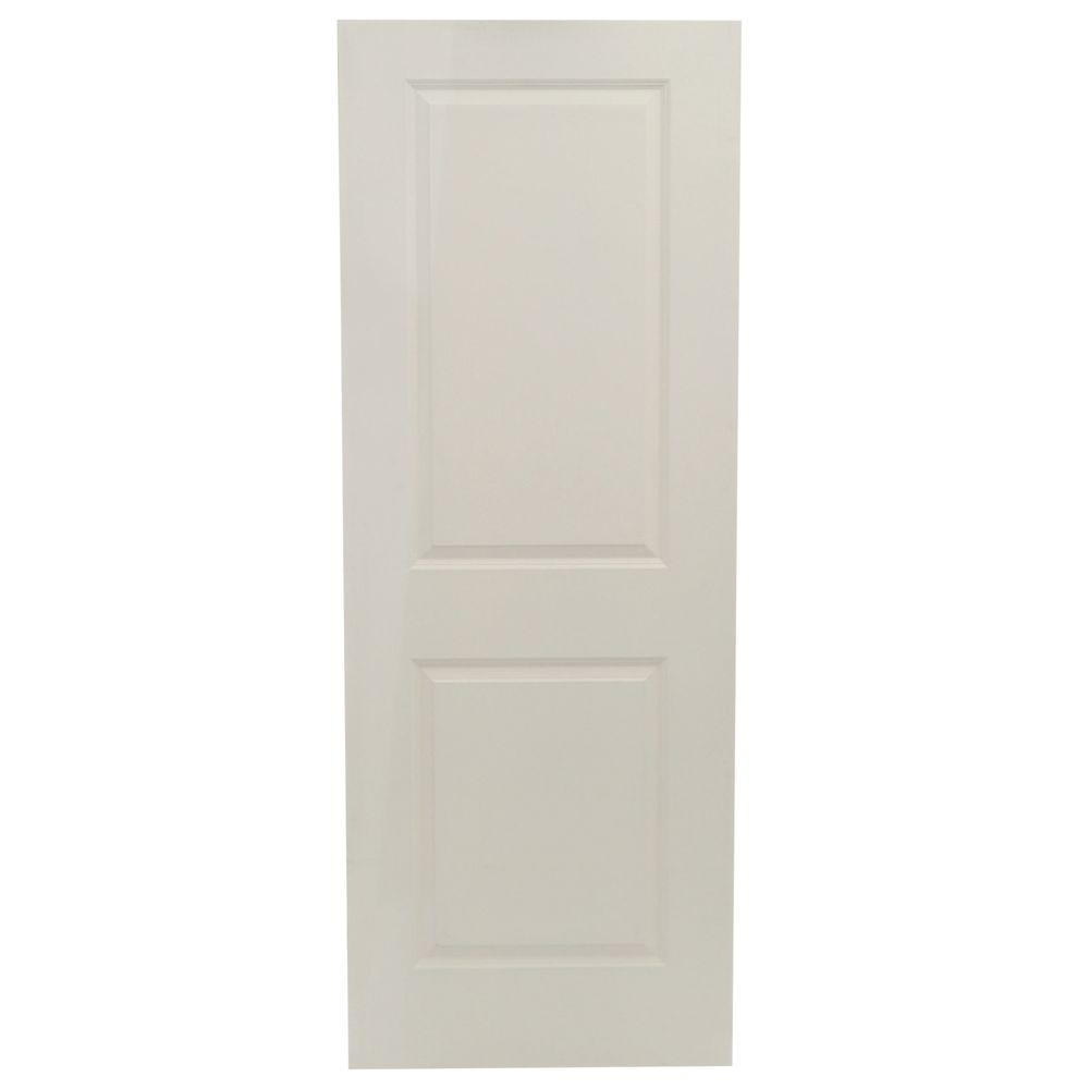 Jeld wen 30 in x 80 in cambridge primed smooth solid for Solid core mdf interior doors