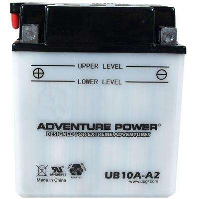 Conventional Wet Pack 12-Volt 11 Ah Capacity D Terminal Battery