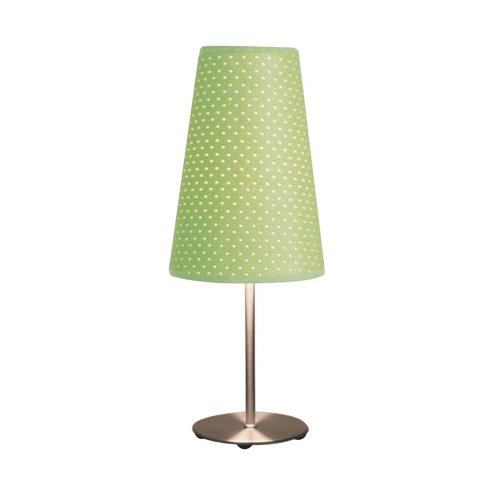 Lumisource 15.25 in. Green Table Lamp---DISCONTINUED