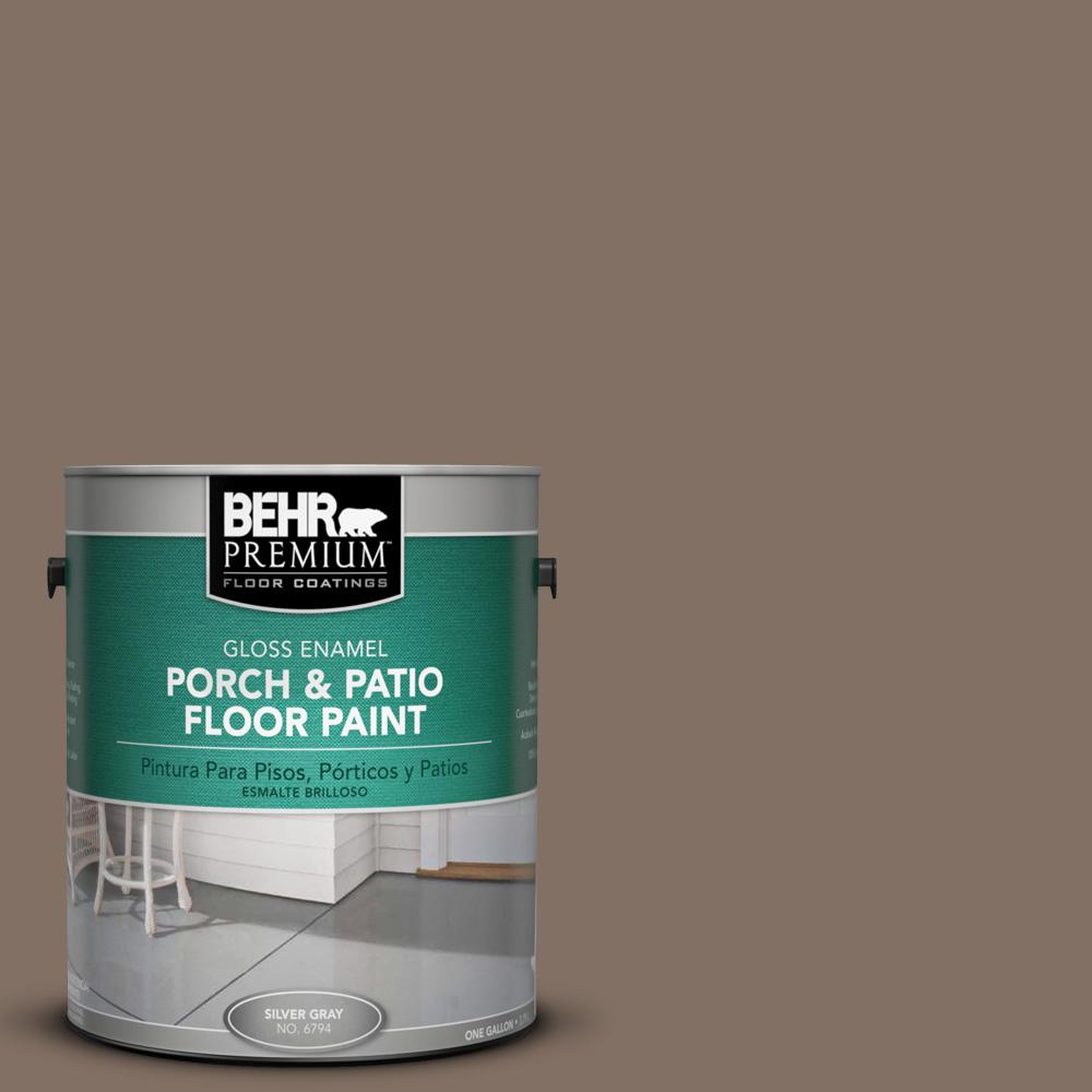 1 gal. #PPU5-17 Cardamom Spice Gloss Porch and Patio Floor Paint