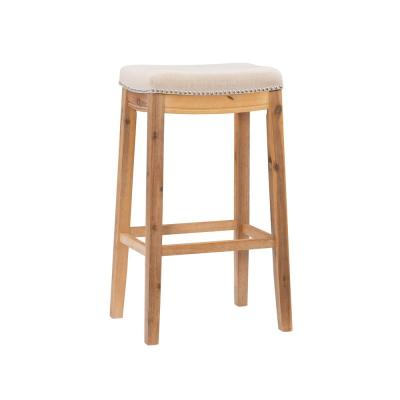 Claridge Acacia 30 in. Bar Stool