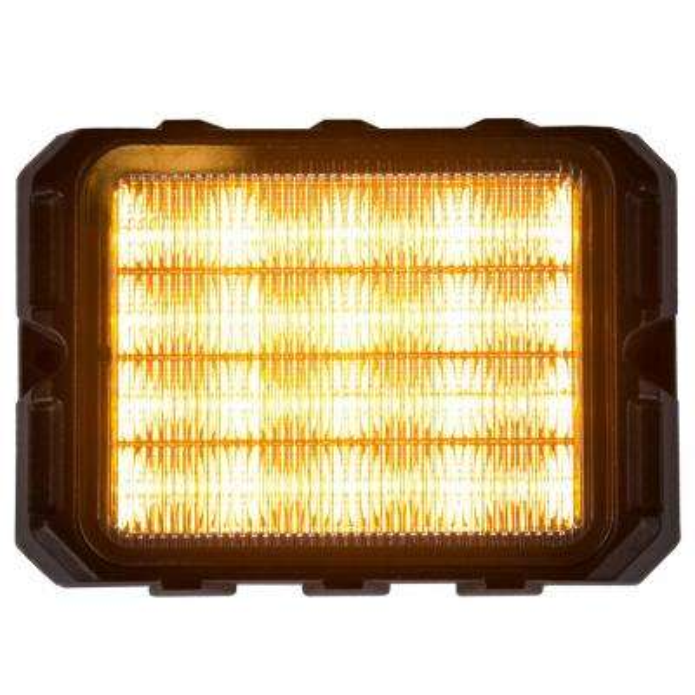 16 Amber LED 4.75 in. Strobe Light