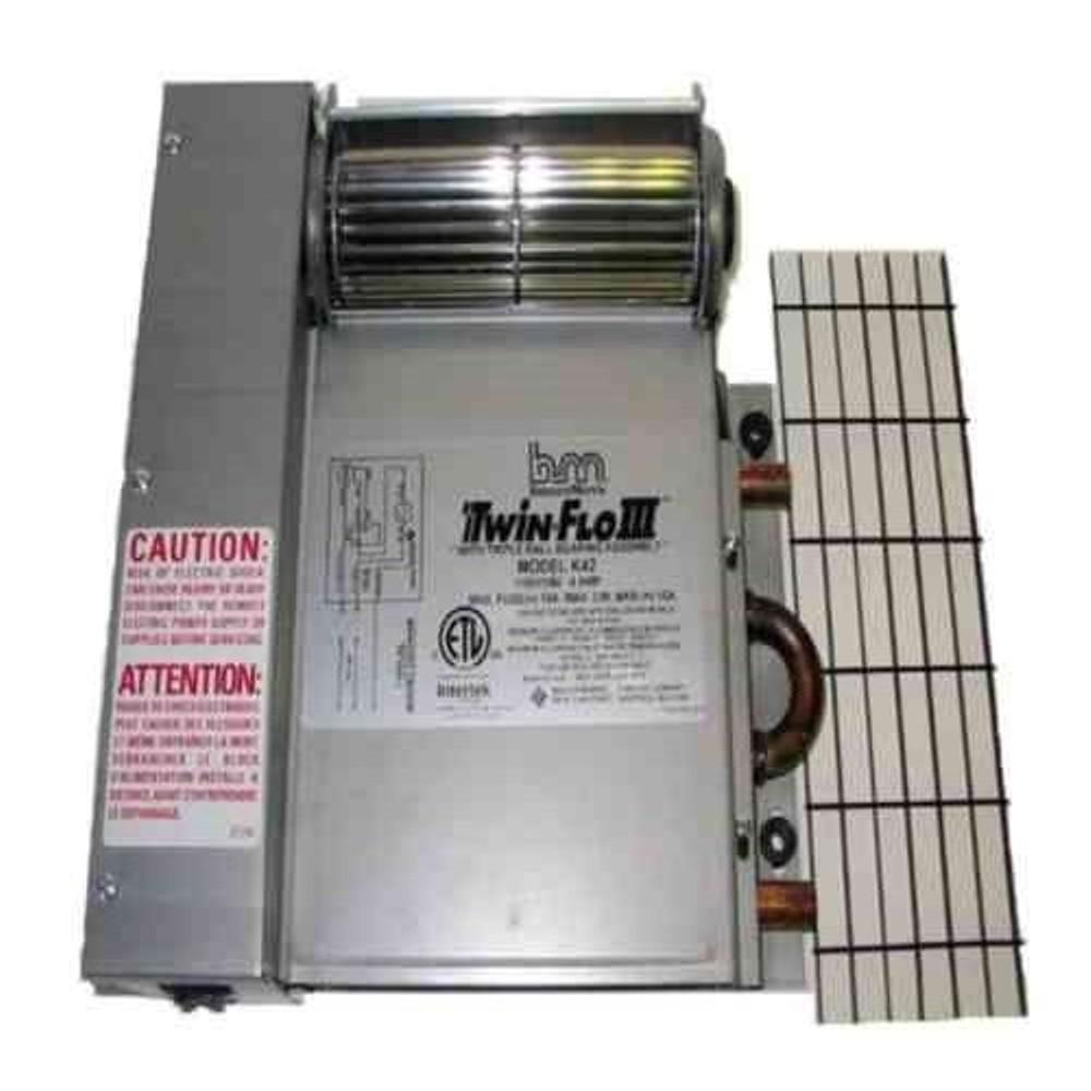 Twin Flo K42 Series 4 200 Btu Hydronic Kick E Heater Not Electric