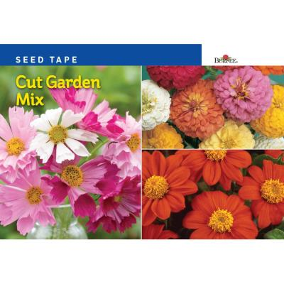 Seed Tape Cut Garden Mix Seed