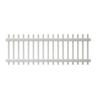 Vinyl Fencing Fencing The Home Depot