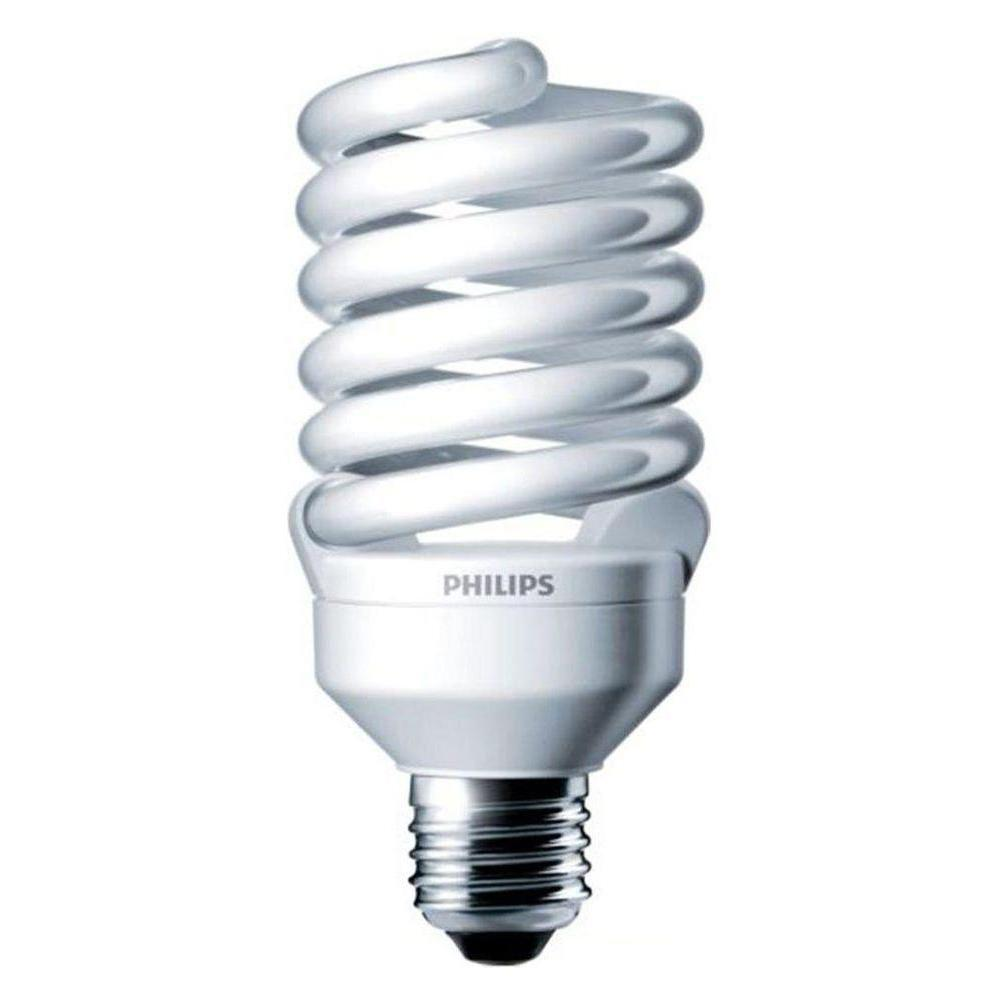 100W Equivalent Cool White (4100K) T2 CFL Light Bulb