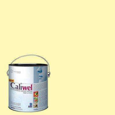 1 gal. Peaceful Glow Yellow Latex Premium Antimicrobial and Anti-Mold Interior Paint