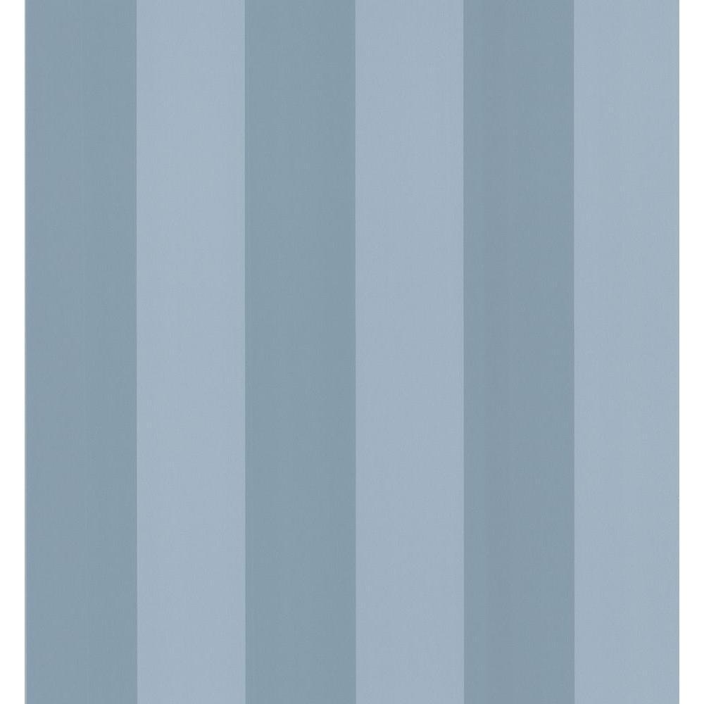 National Geographic Blue Stripe Wallpaper Sample