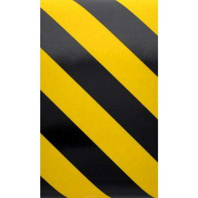 24 in. x 2 in. Reflective Safety Tape Bonus Pack Yellow or Black