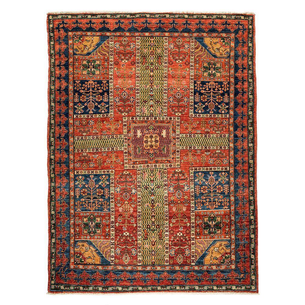 darya rugs ziegler red 5 ft 8 in x 7 ft 6 in indoor. Black Bedroom Furniture Sets. Home Design Ideas