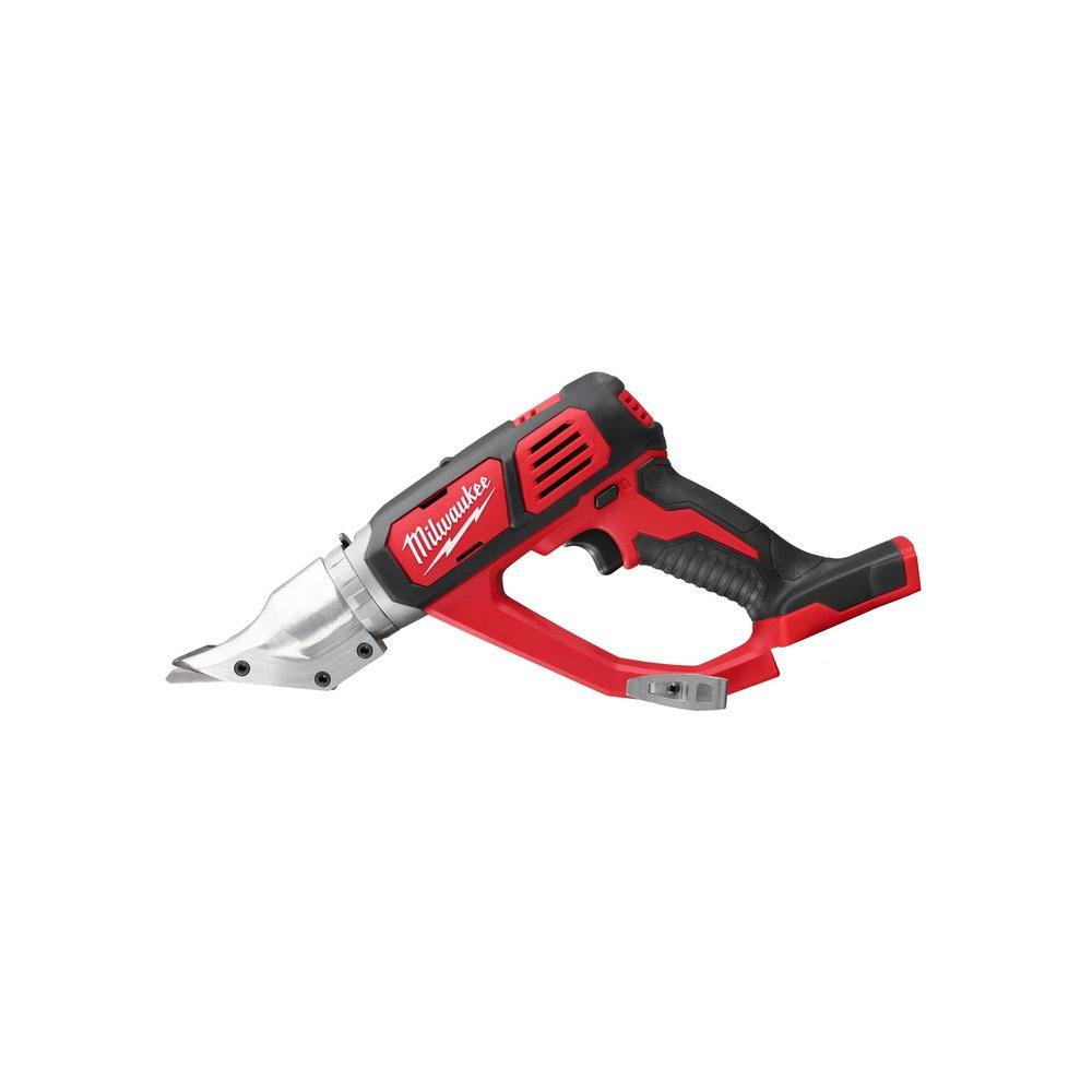 M18 18-Volt Lithium-Ion Cordless 18-Gauge Double Cut Metal Shear (Tool-Only)